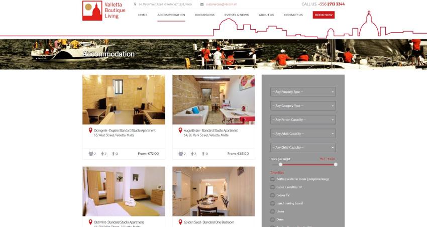 Valletta Boutique Living - Accommodation